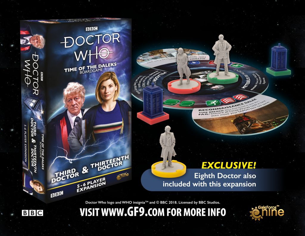 Doctor Who 3rd & 13th Doctor Expansion