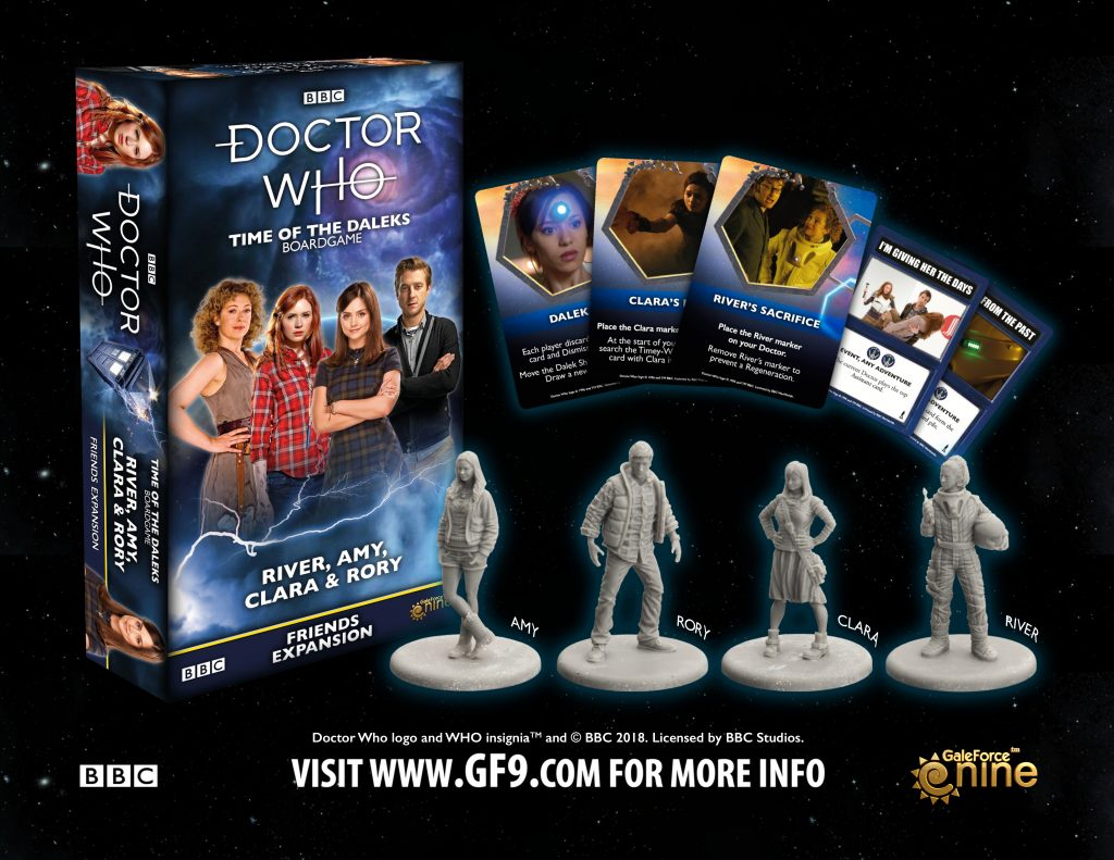 Doctor Who Pond & Friends Expansion