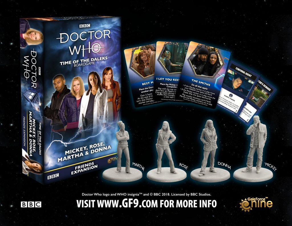 Doctor Who Rose & Friends Expansion