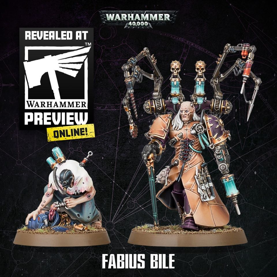 Fabius Bile - Games Workshop