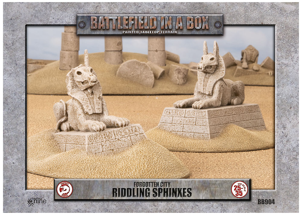 Forgotten City Riddling Sphinxes - Gale Force Nine