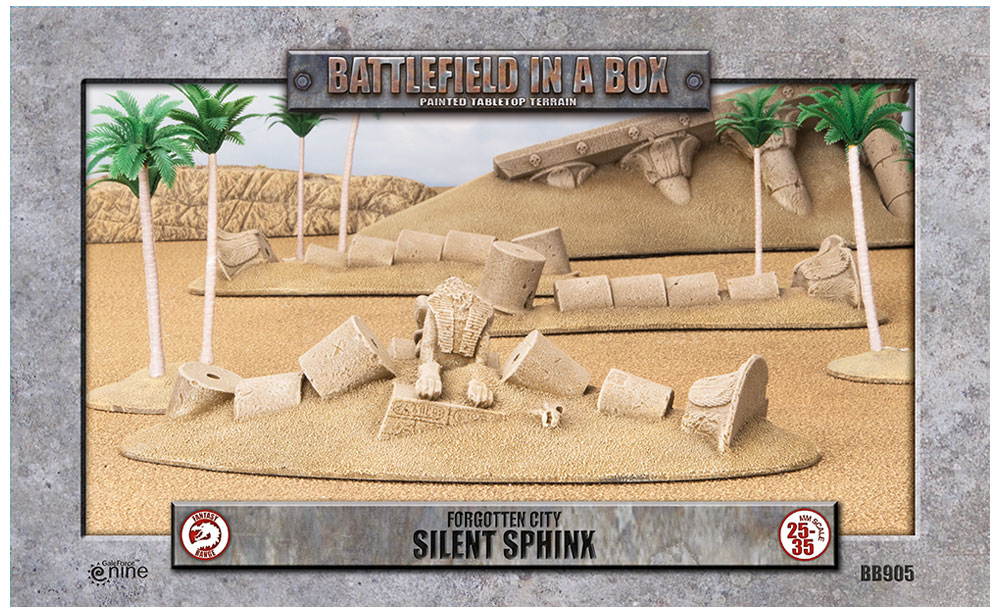 Forgotten City Silent Sphinx - Gale Force Nine