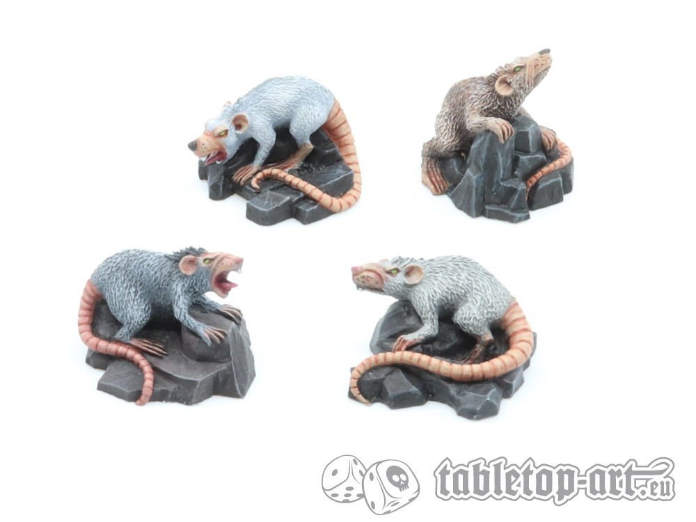Giant Rats - Tabletop Art