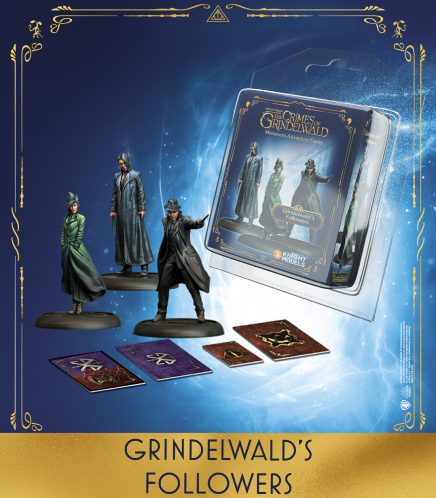 Grindelwald Followers - Knight Models