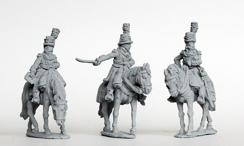 Mounted Colonels In Round Hats - Perry Miniatures