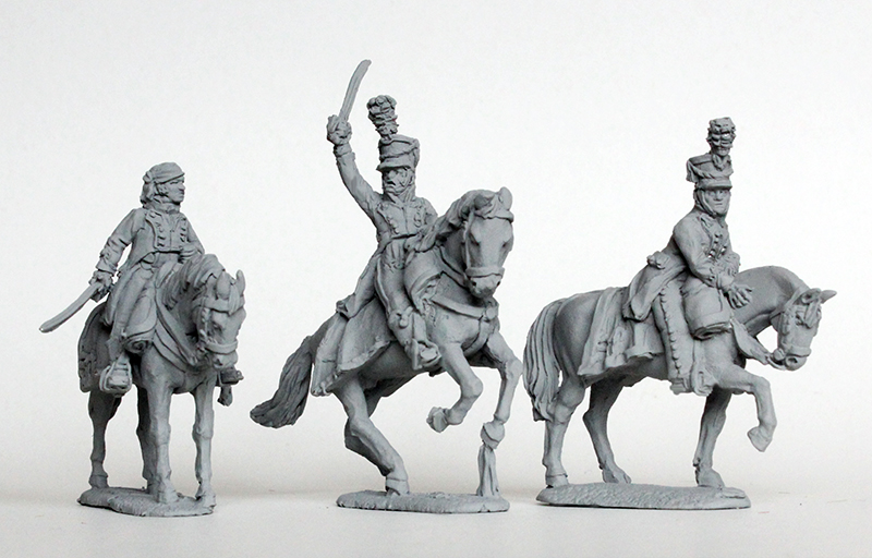 Mounted Colonels In Shakos - Perry Miniatures