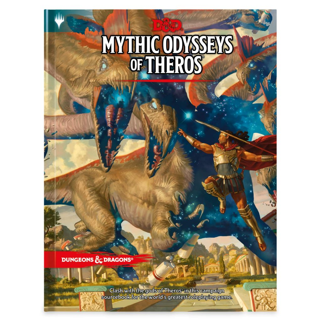 Mythic Odysseys Of Theros - Wizards Of The Coast
