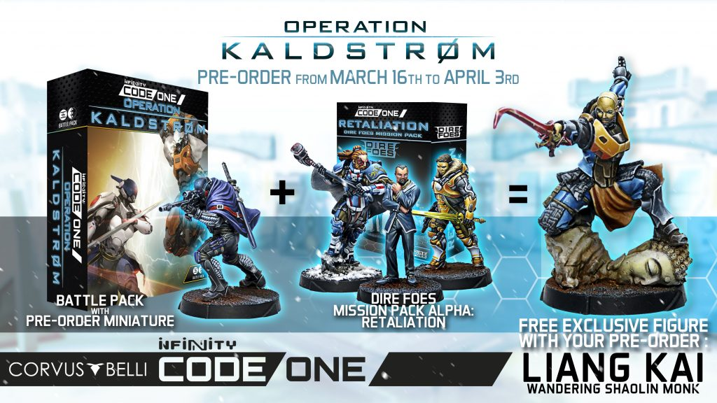 Operation Kaldstrom Pre-Orders - Corvus Belli