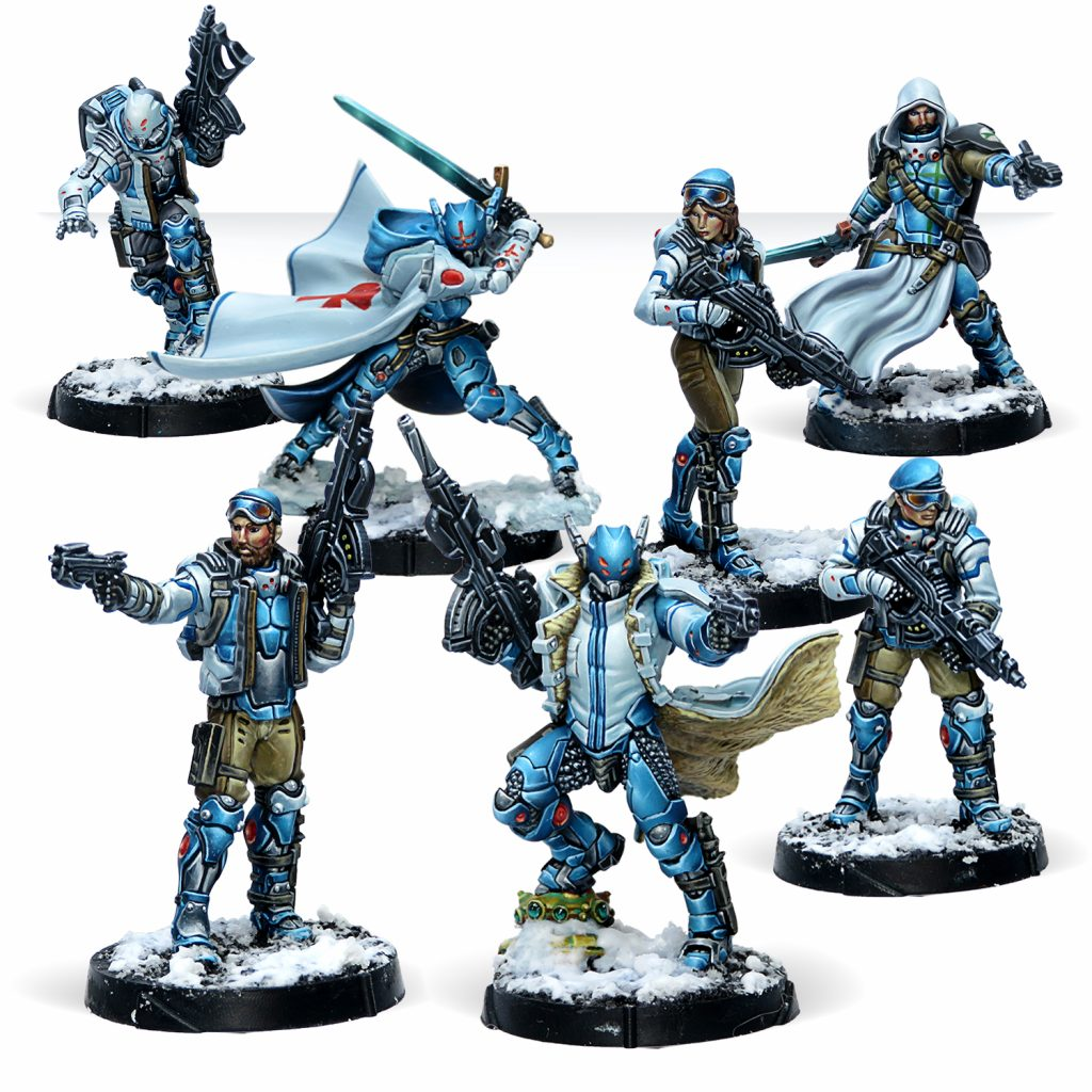 PanOceania Team - Corvus Belli