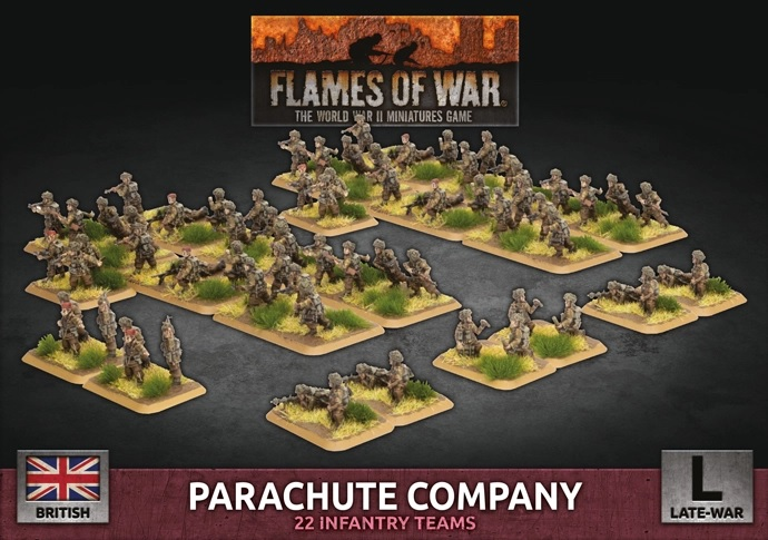 Parachute Company - Flames Of War