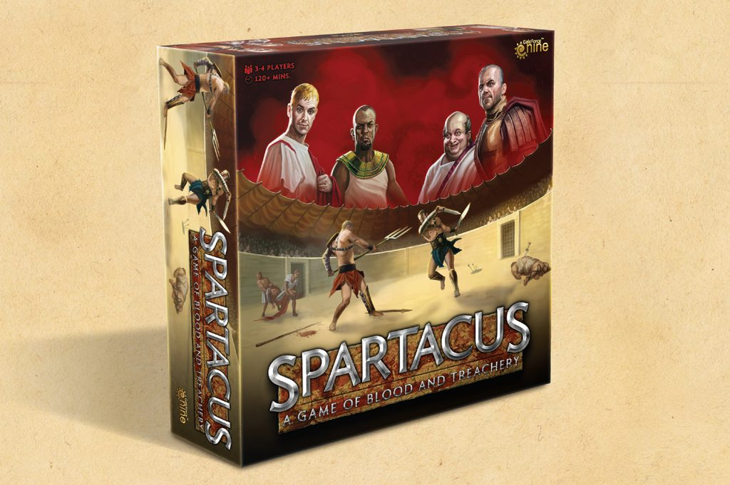 Spartacus Big Box Preview - Gale Force Nine