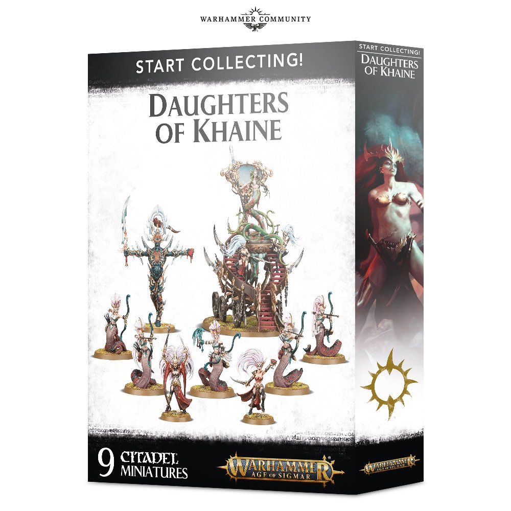 Start Collection Daughters Of Khaine - Age Of Sigmar