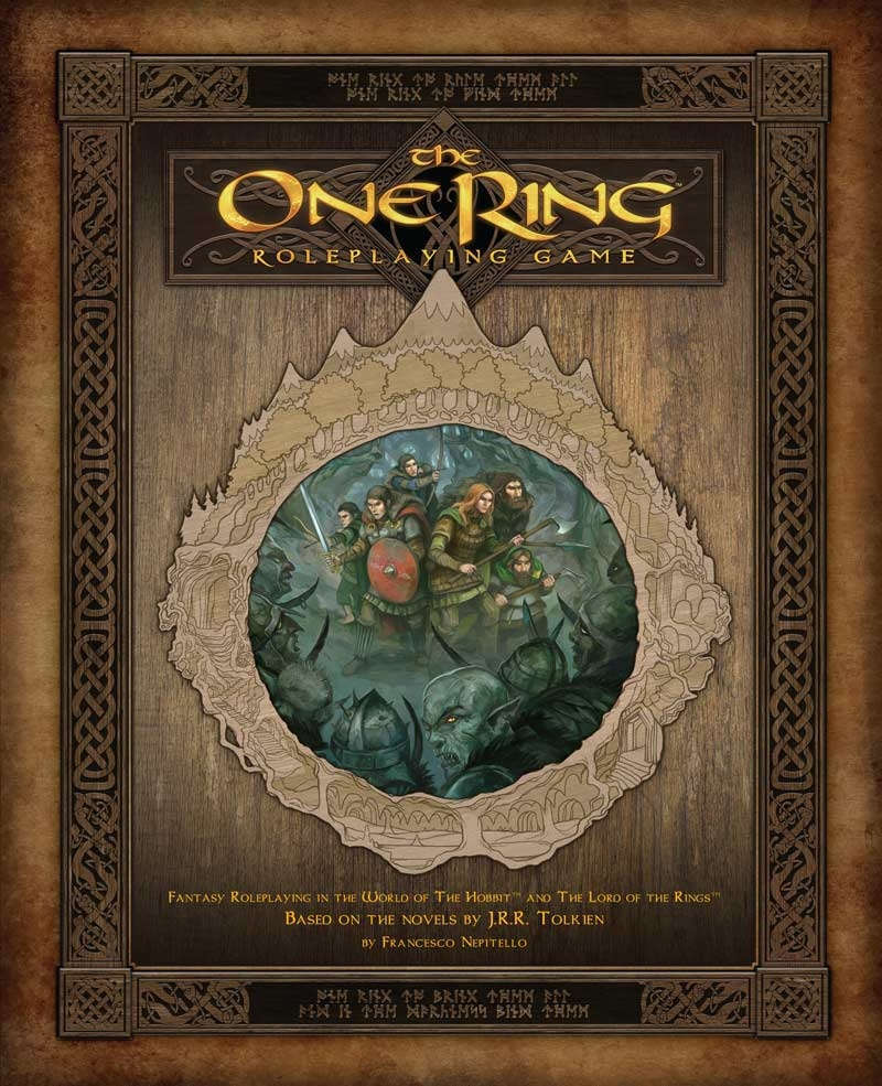 The One Ring RPG - Fria Ligan