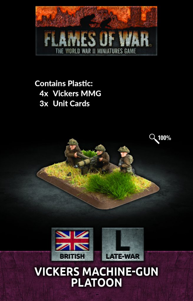Vickers Machine-gun Platoon March - Flames Of War