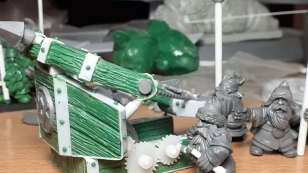 MOMminiaturas Load Up Their New Dwarf Bolt Thrower