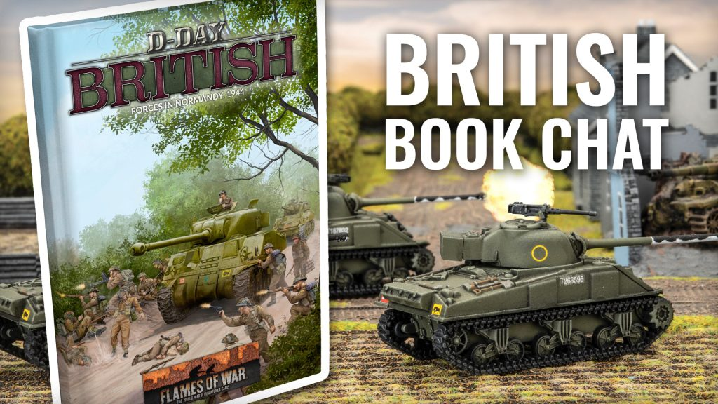 World War II: British Book Chat | Battlefront Miniatures