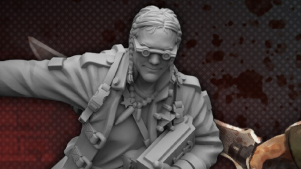 Grab Monster Fight Club's Cyberpunk Miniatures This Week!
