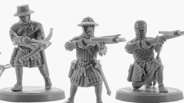 V&V Miniatures Release Their Grizzled Crusader Crossbowmen