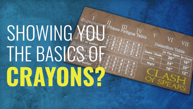Gerry Can Show You The Basics Of Crayons