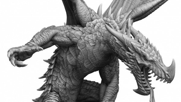 Mierce Miniatures Unleash A Mighty Dragon On Darklands