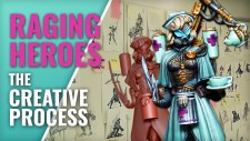 The Creative Process Of Raging Heroes