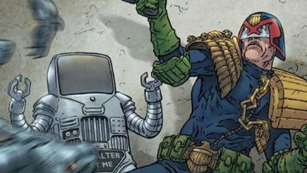 Modiphius Explore The World Of 2000AD & Judge Dredd