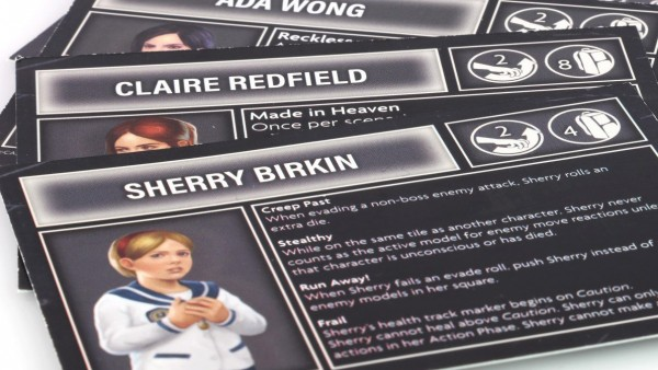 Save Sherry Birkin In Steamforged's Resident Evil 2 Promos