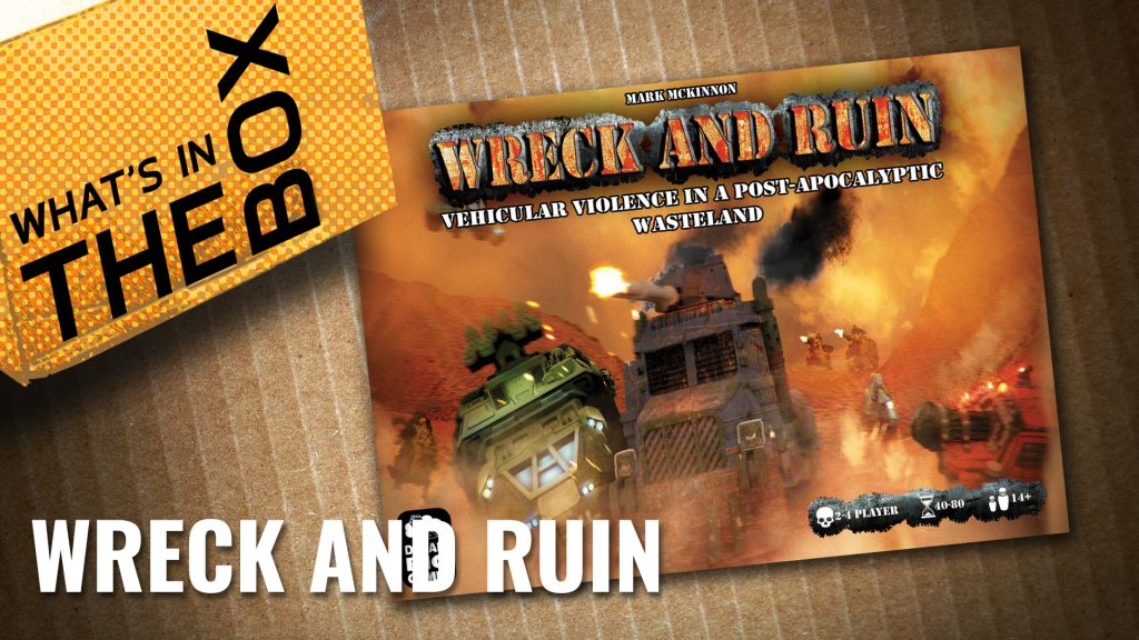 Unboxing - Wreck and Ruin | Dream Big Games
