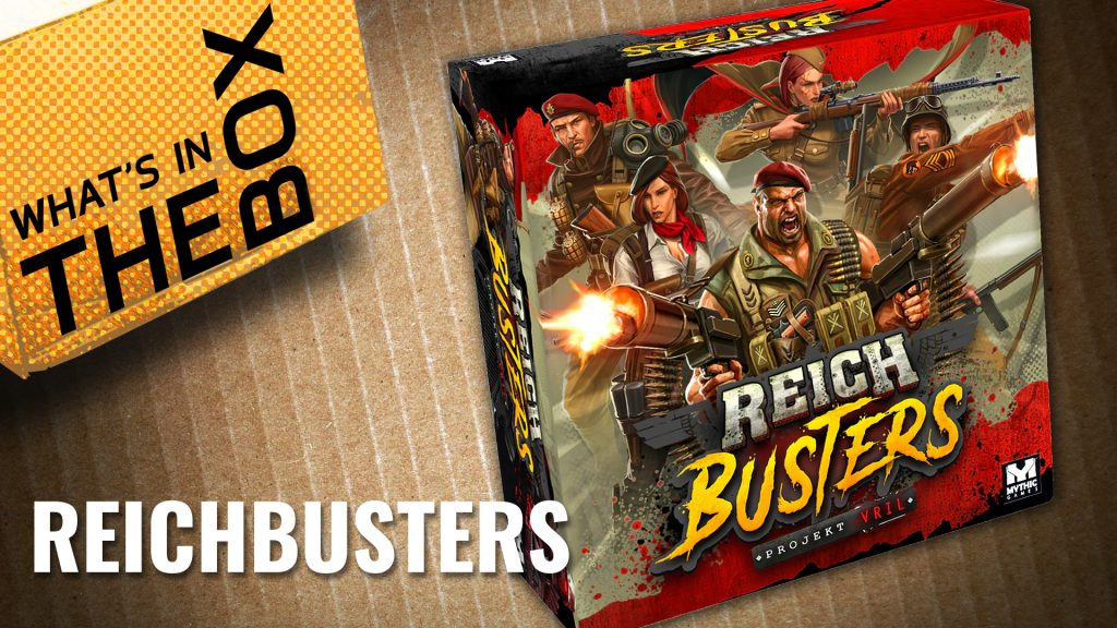 Unboxing - Reichbusters & Expansions | Mythic Games