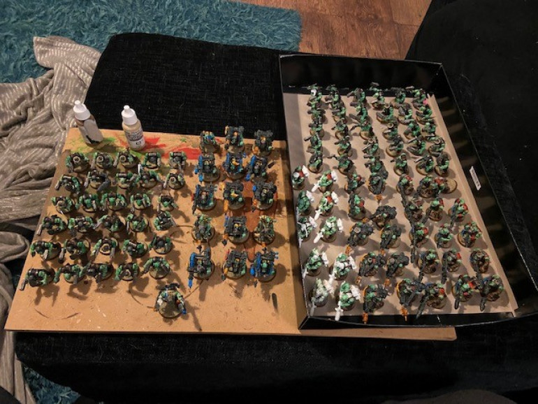 111 Models all based up.