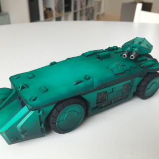 APC from Aliens and the team from Predator