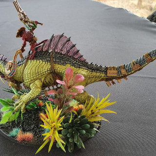 Finished Troglodon