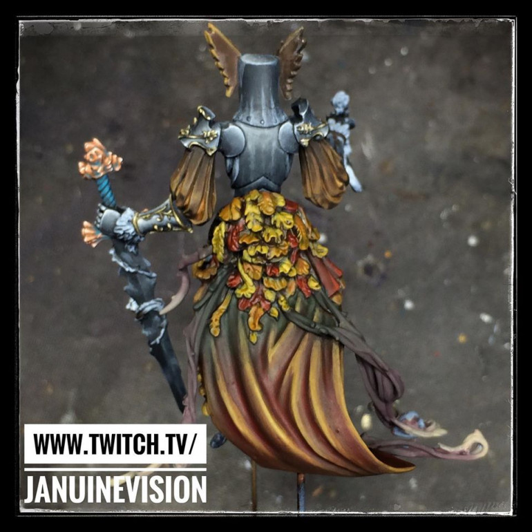 The Flower Knight Returns - Autumnal Gown n Foliage Pt 4