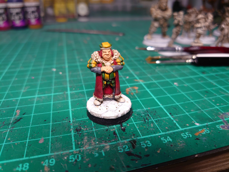 Next is Herman the Burgomeister, possibly a client of to the lady in pink😁