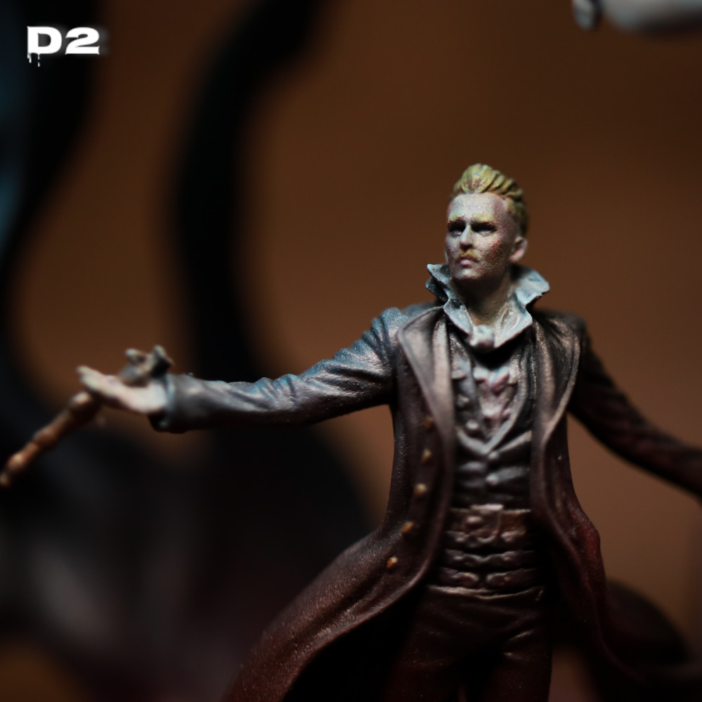 8 Hours Marathon Assemble and Painting Grindelwald – Harry Potter Miniatures Game