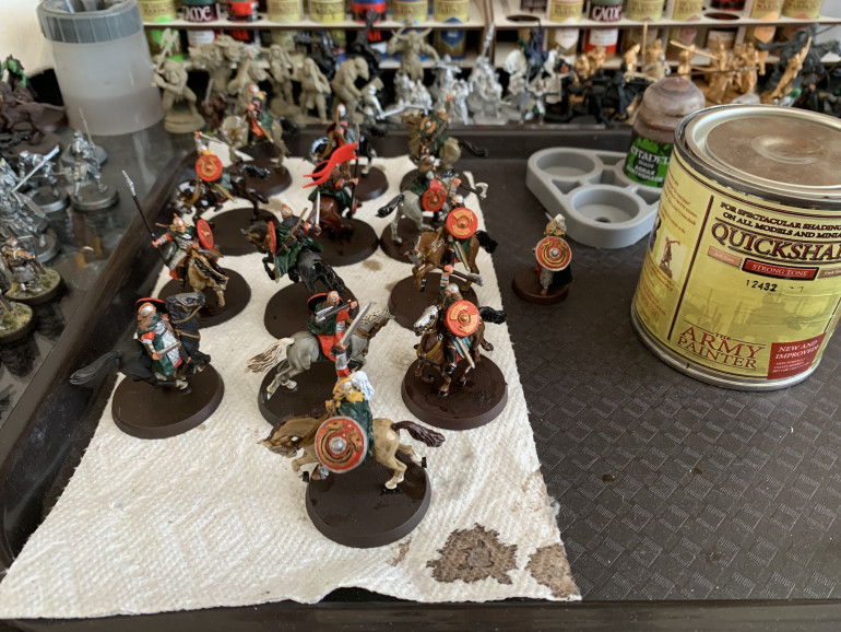 Red shield Washes