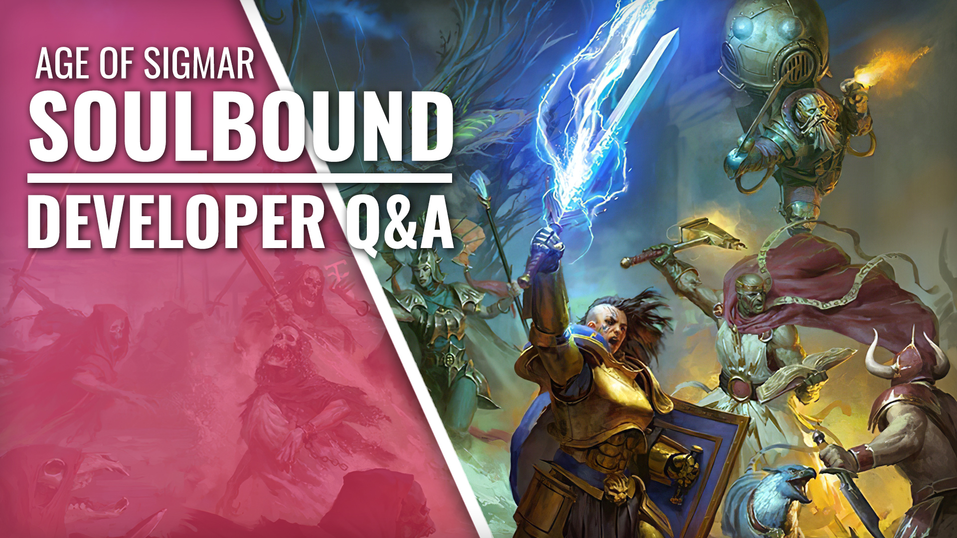 Q&A Time! What's Coming In Cubicle 7's Age Of Sigmar: Soulbound Starter Set?