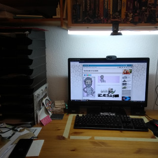 Turning cameras and a clean workspace