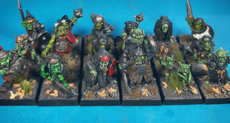 Goblin first wave done...