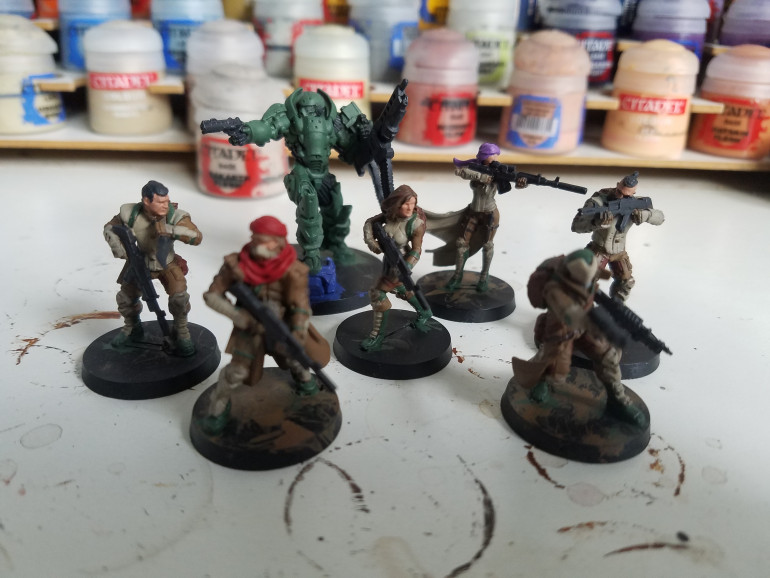 Basecolours done
