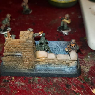 The first pictures of the painted troop.