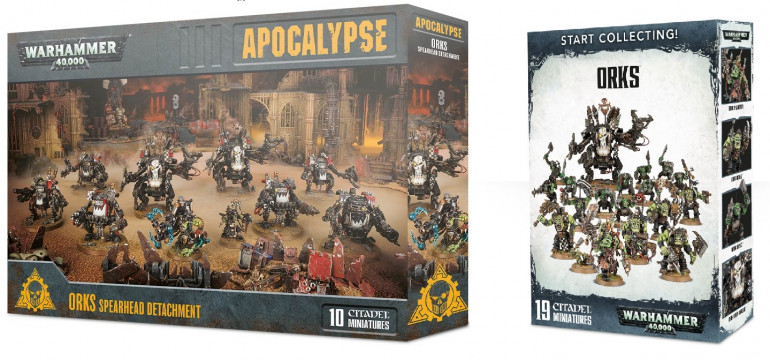 GW's occasional generosity is often well worth the wait. Bundle boxes like these will often give you 10-20% more models for your buck then buying separately, and are often reduced again by specialist retailers.