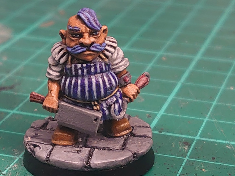 Finished Gowak the Butcher almost forgot the eyes but remembered just in time.