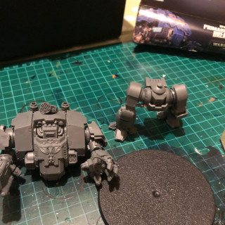 Finishing building the Redemptor.