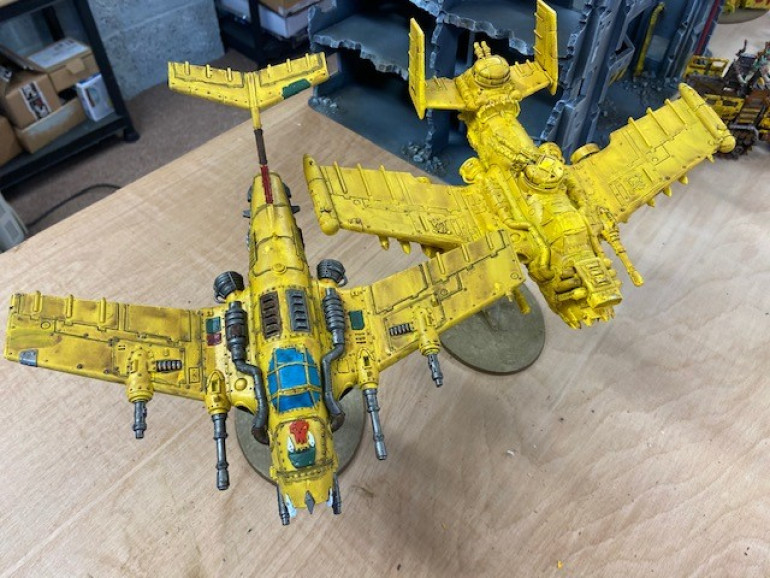 Dakka Jet (finished) and Burna Bomber (in Progress)