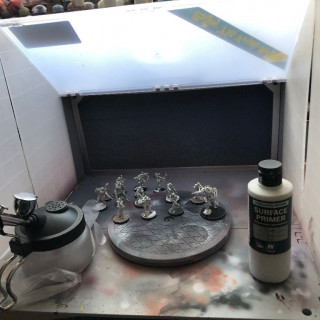 Priming and Base Colour