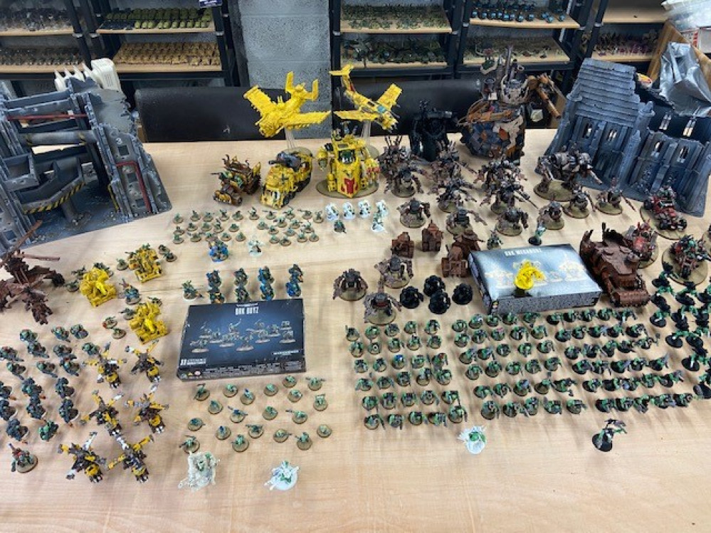40K Ork Apocalypse army / Spring clean challenge / how i'm beating the boredom of the Covid 19 lock down…