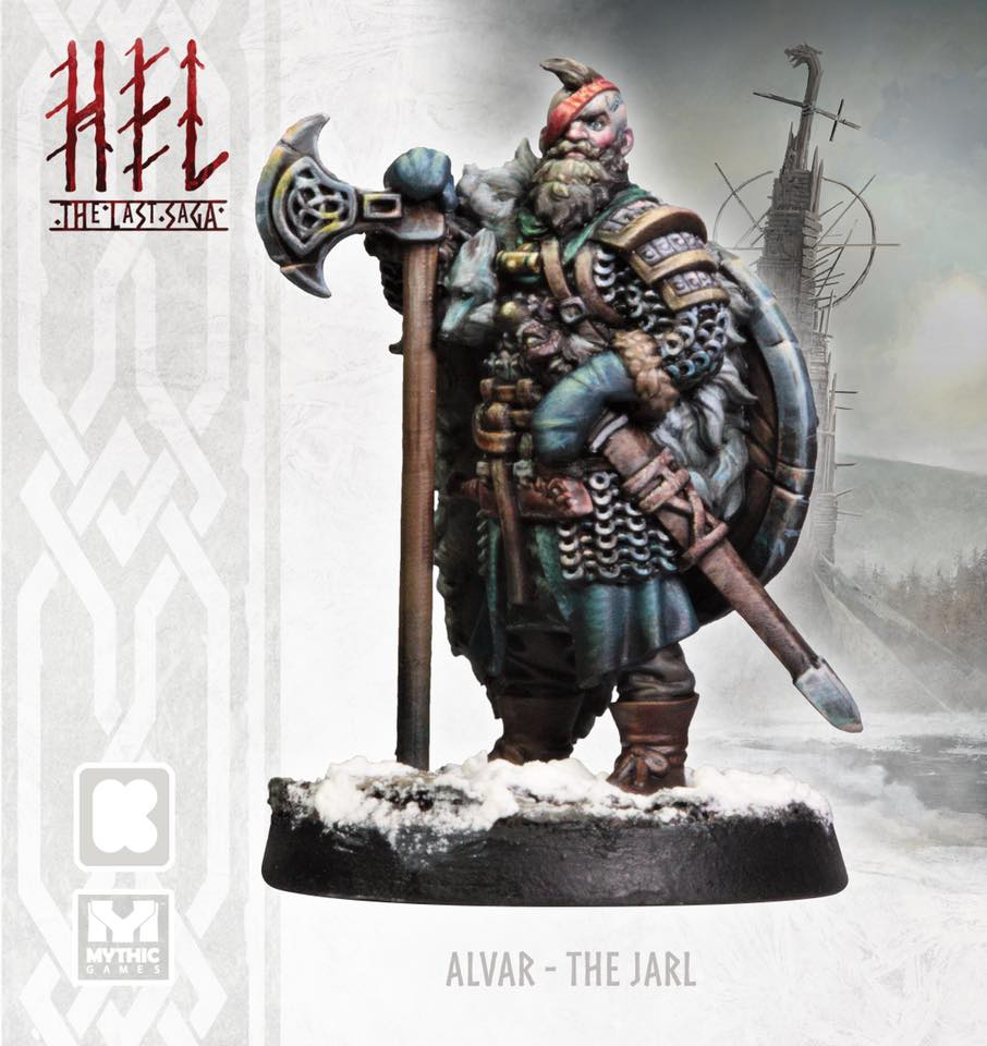 Alvar The Jarl Painted - Mythic Games