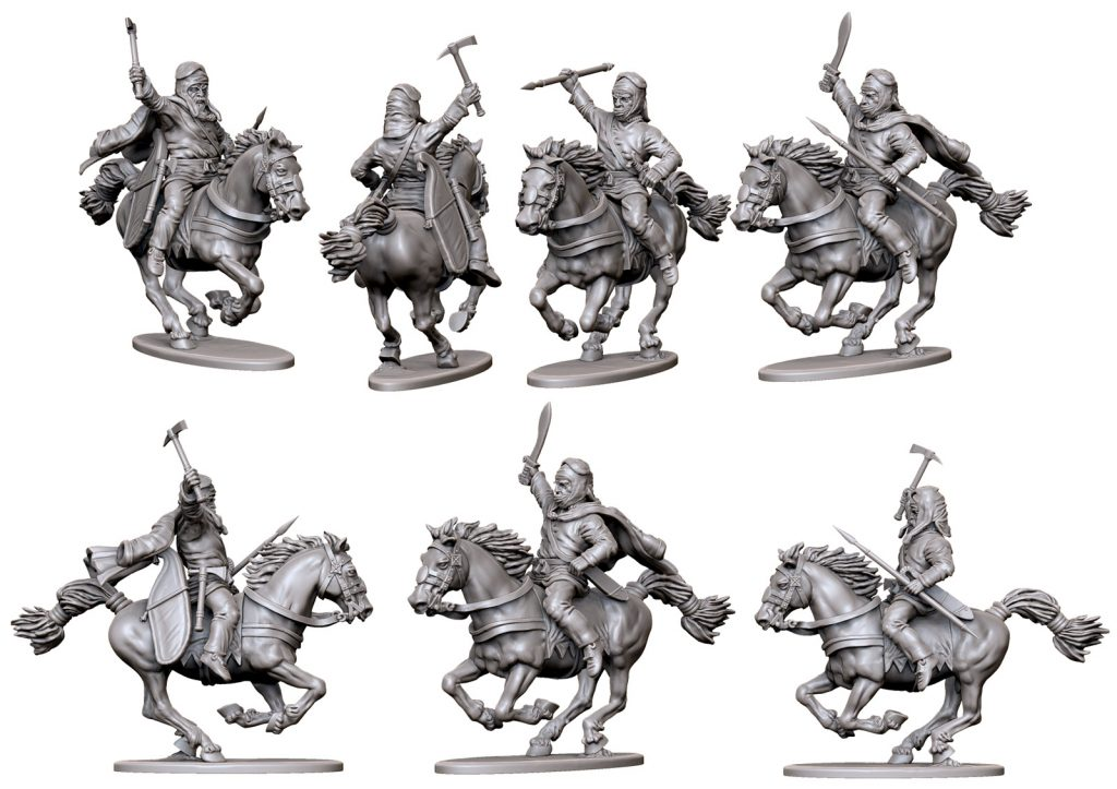 April Persian Cavalry #1 - Victrix