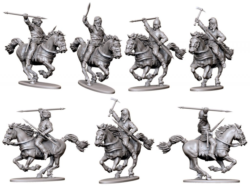 April Persian Cavalry #2 - Victrix